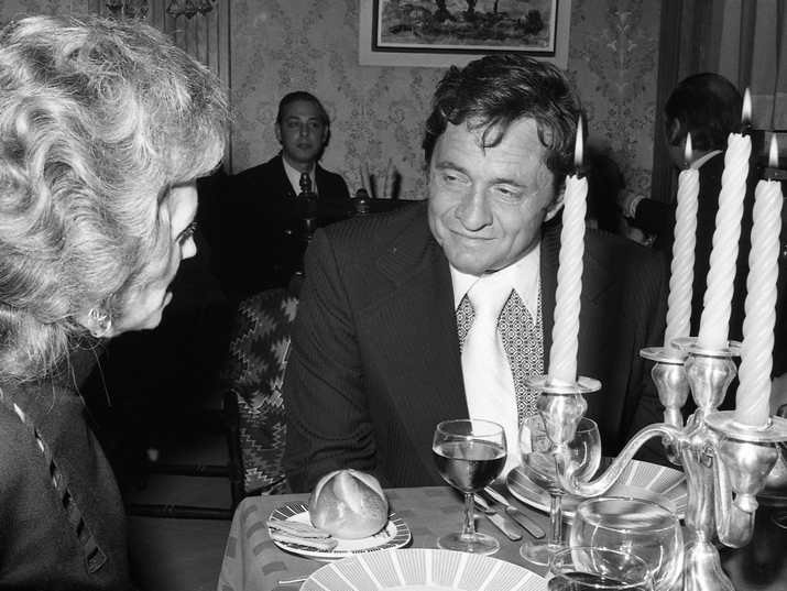 A Reception for the Man in Black: Johnny Cash in Israel